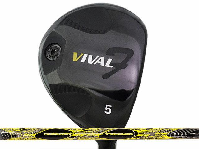 日幸物産 VIVAL F (ヴィバル エフ) フェアウェイウッド TRPX RED-HOT Type-MKシャフト