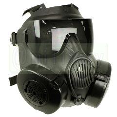 M50 ガスマスク スタイル フルフェイスゴーグル BK