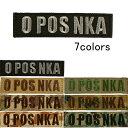 O POS NKA 血液型パッチ O型RH+ サバゲー,サバイバルゲーム,ミリタリー