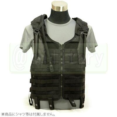 FLYYE Delta Tactical Mesh Vest with 3L Bladder BK