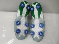 ゴルフシューズ靴メンズ男性用フットジョイFootjoyフリースタイル57338Jグレー×グリーンSU021