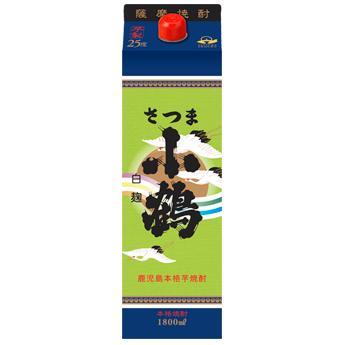 薩摩芋焼酎 小正醸造 さつま小鶴 25度 1800mlパック