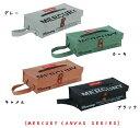 【メール便対応可能】 マーキュリー キャンバスシリーズ ティッシュケース 【MERCURY CANVAS SERIES】 Canvas Tissue Case