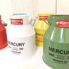 マーキュリー ミルク缶mini◆Mercury◆ナチュラル雑貨 ◆Natural◆ガーデニング…