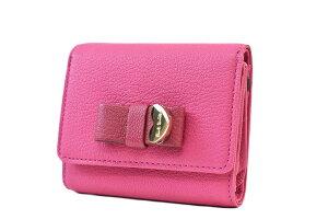 ポールスミス 二つ折り財布 財布 レディース ブランド Paul Smith コントラストリボン2 専用箱付 フラップ ゴートスキン ピンク 女性 婦人 本革 PWU902 【あす楽】