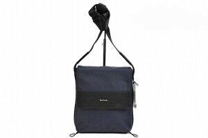 ポールスミス ショルダーバッグ サコッシュバッグ バッグ メンズ ブランド Paul Smith ストライプ インサートハンドル 紺 ネイビー 男性 紳士 PSN870 【あす楽】