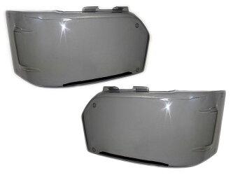 ハイエース200系・4型ヘッドライトカバー・ライトスモーク