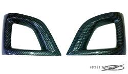 ハイエース200系セレクトインポートパーツ・3型前期ナローフォグカバーカーボンルック