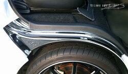 ハイエース200系フロントタイヤハウスカバークロームメッキ新発売