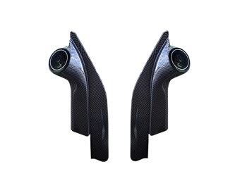 ハイエース200系ツイーター付パネルカーボンルックブラック