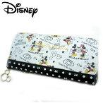 【全国送料無料】【ディズニー/Disney】ラウンドファスナー長財布/ミッキー&ミニー