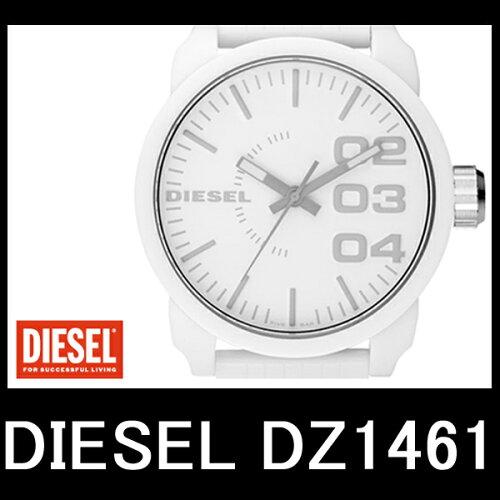 DIESEL ディーゼル オールホワイトのドデカウォッチ メンズ 腕時計 DZ1461