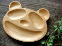 笑うパンダのお皿木のお皿 木製 パンダのウッドトレイ ランチプレート パン皿雑貨パンダグッズ