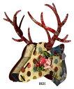 ★カラフルな北欧デザイン シカの壁飾り【BIG】  MIHO HisMajesty Big35 MDF板を組み立てて作る鹿オブジェ雑貨通販【RCP】