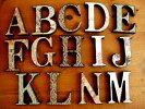アンティーク木製アルファベットオリエンタル風ウッデンレター壁掛けオブジェ置物ローマ字看板雑貨通販【楽ギフ_包装】【楽ギフ_のし宛書】【RCP】