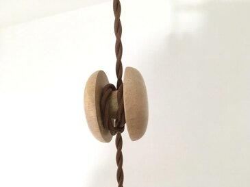 最安値挑戦中★コードリールナチュラルウッド コードハンガー  コード長調整 糸巻木製調整ケーブルリール  ペンダント照明 長さ調節 北欧風 おしゃれ