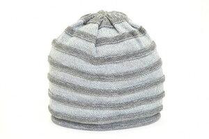 室内でもかぶりやすい♪ニット帽SAINTCLAIR6664003グレーニットワッチ帽子レディース婦人プレゼントファッションカジュアル室内手洗いおしゃれ日本製ネット通販秋冬