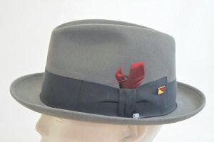 シンプルで合わせやすいウール中折KNOXノックスKI325グレーメンズ紳士帽子ハットおしゃれクールカジュアルスーツ人気防寒対策暖かいプレゼント高品質旅行敬老の日ネット通販送料無料秋冬