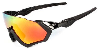 レンズ2枚霧や過熱に対抗〜眉の視界を最大化オリジナルFlightJacketスポーツサングラスFIJ