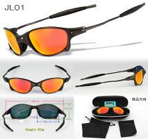 軽量メタルフレーム偏光レンズオリジナルJulietジュリエットスポーツサングラスJL