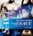 SAVE プロテイン やみつきチョコ風味 ホエイプロテイン 乳酸菌・バイオペリン・エンザミン酵素配合