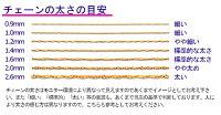スクリューチェーン【Pt850】【1.0mm】【40cm】★レビューを書いてメール便送料無料★