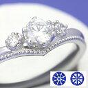 【0.5ct】セミオーダーダイヤモンドリング ハート&キューピッドC-05★