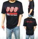 ローリングストーンズ Tシャツ メンズ スリー/ベロ 半袖 ROLLING STONES
