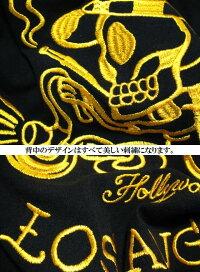 EDHARDYエド・ハーディーエドハーディー半袖Tシャツゴールド/刺繍/ライダースカルメンズドクロSkullスカル★正規品★メンズトップスメンズファッショントップス