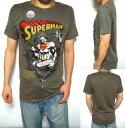 シロイネコ/SHIROINEKOTシャツ メンズ スーパーマン SUPER MAN メンズファッション トップス 半袖 ストリート 【あす楽】【即日出荷】ラッピング無料【送料無料】【返品OK 返金保証】【返品送料無料】