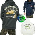 INDIANMOTOCYCLEインディアンモトサイクルパーカージャケット刺繍/プリントジャケットプルオーバーメンズトップスチャコール/ホワイト/ネイビー正規ライセンスM-XL