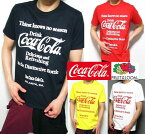 コカコーラTシャツグッズメンズ半袖フルーツオブザルームコラボFRUITOFTHELOOMコカ・コーラCoca-Cola