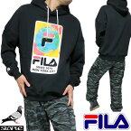 FILAフィラstapleステイプルコラボパーカーメンズ/レディース長袖ブラックサイズS-XL