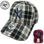 47brandキャップニューヨーク/ヤンキースベースボール/キャップ帽子スナップバックウールブラックフォーティーセブン