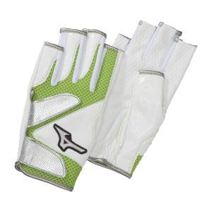 ミズノ MIZUNO グラウンドゴルフ 手袋 メッシュ 指出しタイプ 両手 グラウンドゴルフ用品 グローブ レディース メンズ C3JGP815