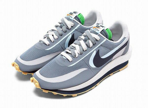 メンズ靴, スニーカー CLOT SACAI NIKE LDWAFFLE COOL GREY