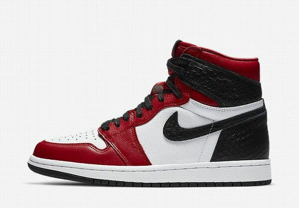 メンズ靴, スニーカー NIKE WMNS AIR JORDAN 1 RETRO HIGH OG (SATIN SNAKE)