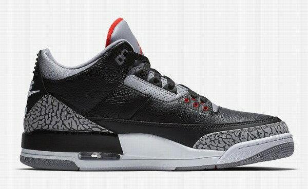 メンズ靴, スニーカー NIKE AIR JORDAN 3 OG Black Cement
