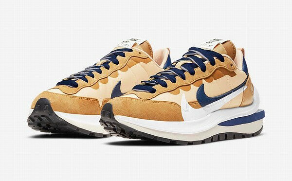 メンズ靴, スニーカー NIKE sacai Vaporwaffle Sesami Blue