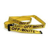 OFF-WHITE オフホワイト INDUSTRIAL BELT イエローベルト OMRB012F196470036000 イタリア正規品 新品