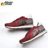 ATLANTIC STARS アトランティックスターズ メンズ ボルドースウェード×ナイロンスニーカー 靴 イタリア正規品 SIRIUS BPB 64N 02P05Nov16