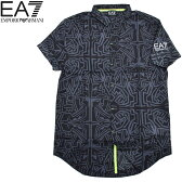 EMPORIO ARMANI EA7 エンポリオ アルマーニ メンズ IBIZA半袖シャツ イタリア正規品 3YPC01 PJ62Z 2017【あす楽対応】【sybp】 02P05Nov16