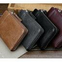 二つ折り財布 メンズ 財布 レザー コンパクト財布 大容量 ...