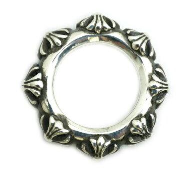 クロスバンドリング 指輪 シルバー925 メンズ レディース ch004