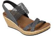 送料無料[沖縄、離島除く]スケッチャーズSKECHERS31723BEVERLEE-HIGHTEAウエッジサンダルサンダルウエッジレディース婦人BLKNAT靴