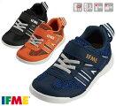 送料無料イフミーIFMELight22-9710キッズスニーカー子供ネイビーオレンジブラック靴