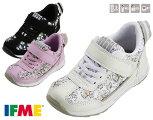 イフミーIFME30-9708キッズスニーカー子供ホワイトピンクブラック靴