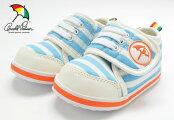 送料無料アーノルドパーマーAP0118ベビースニーカー赤ちゃん子供子どもこども靴BABYARNORDPALMER118ブルーストライプ