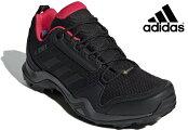 アディダスadidasBC0572TERREXAX3GTXWトレッキングシューズゴアテックスレディース婦人カーボン/ブラック/ピンク靴