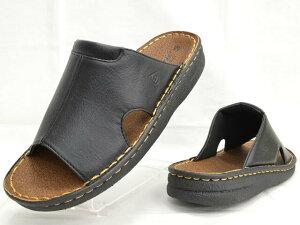 ダンロップ DUNLOP DCS55 コンフォートサンダル オフィスサンダル メンズ 紳士 ブラック ブラウン 靴